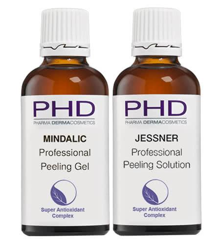 Линия PEELING космецевтики PHD Pharma Dermacosmetics